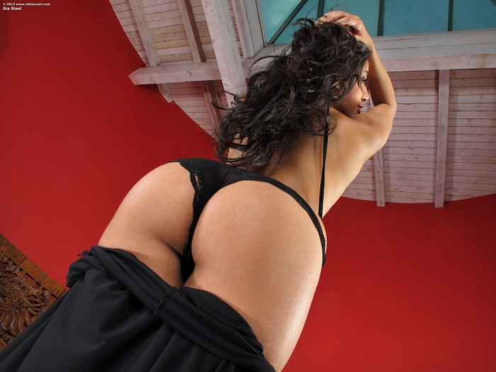 Gia Steel Ass Cheeks